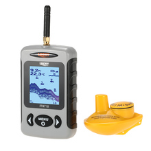 LUCKY FFW718 Fish Finder Professional Sounder Wireless Sonar Fishfinder with Dot Matrix Fish Finder Fishing Probe Detector