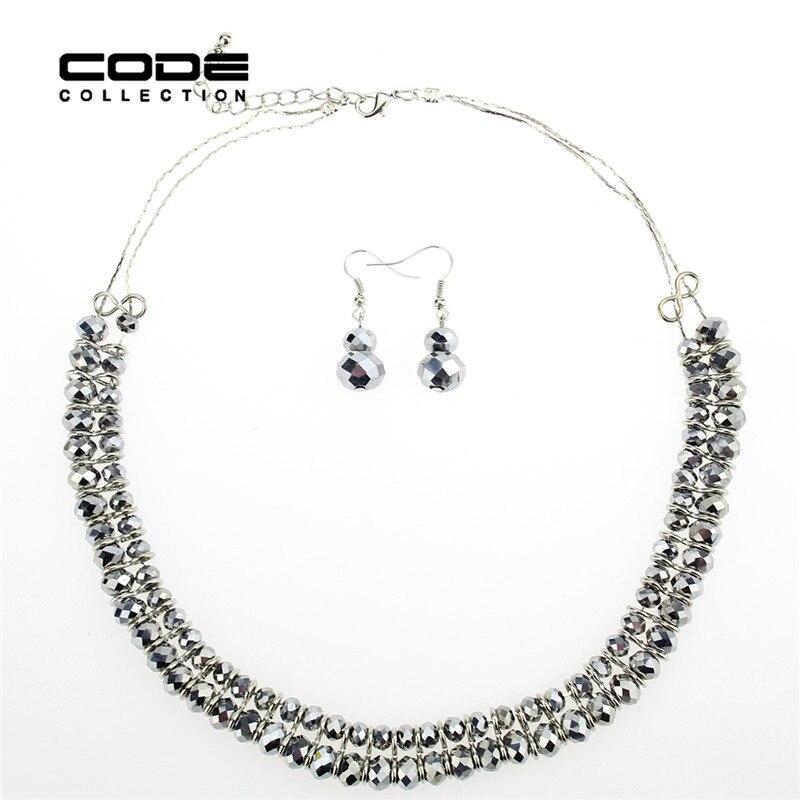 Módní Maxi Vintage Collares Korálky Náhrdelníky imitace Crystal náhrdelník žena 1 sada vánoční dárek A010