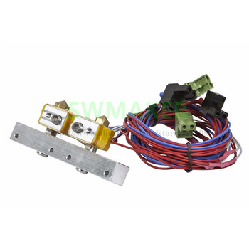 SWMAKER MK10 Extruder Heating Assembly Replacement kit for Monoprice Dual Extrusion Maker Architect 3D Printer parts