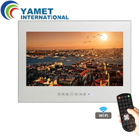 Free Shipping 42 Inch Android 4 2 Smart WiFi 1080HD Full Vanishing Mirror Television