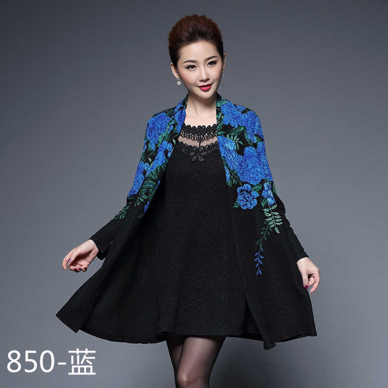 Spring Summer Women High Quality Printing Two Piece Dress Casual Long  Sleeve Slim Women s Party Dresses 32457d2bbe5b