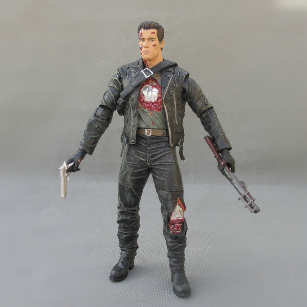 Huong Movie Figura 18 CM Terminator 2 Action Figure T-T-Steel Mill PVC Action Figure Toy Model Toy collezionismoHuong Movie Figura 18 CM Terminator 2 Action Figure T-T-Steel Mill PVC Action Figure Toy Model Toy collezionismo