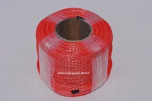 빨간색 6mm * 100m 합성 윈치 로프, ATV 윈치 케이블, 오프로드 로프, ATV UTV 윈치 용 로프, 플라즈마 로프