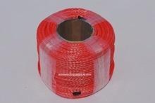 Czerwony 6mm * 100m syntetyczny wyciągarka, wciągarka ATV, lina Off Road, lina do wciągarki ATV UTV, lina plazmowa