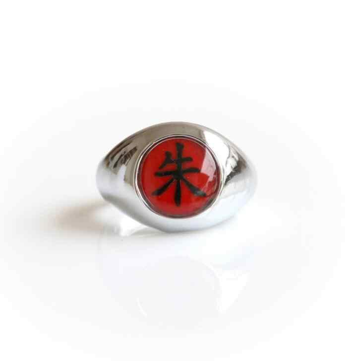 อะนิเมะ Naruto Akatsuki Headband คอสเพลย์อุปกรณ์เสริมของเล่น Props Itachi Akatsuki แหวนสร้อยคอดาบมือ Ninjathrow ชุด