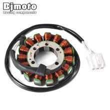 BJMOTO 21003-0049 Motorcycle Magneto Generator Stator Coil For Kawasaki ZX600 Ninja ZX-6R 2007-2008