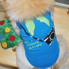 Puppy Bright Blue Clothes