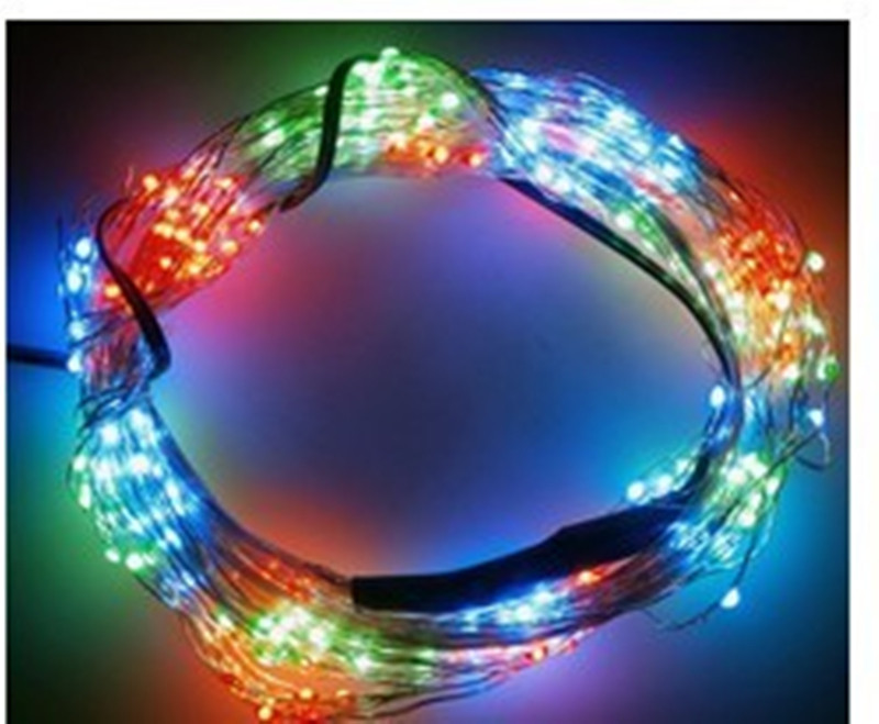 Analytical 2m/lot 9 Strings Silver Vine String Light 180leds 12v Outdoor Waterproof Vines Light For Wedding Christmas Party Tree Decoration