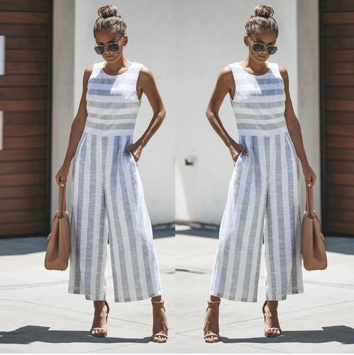 New Fashion Women Striped Print Clothes