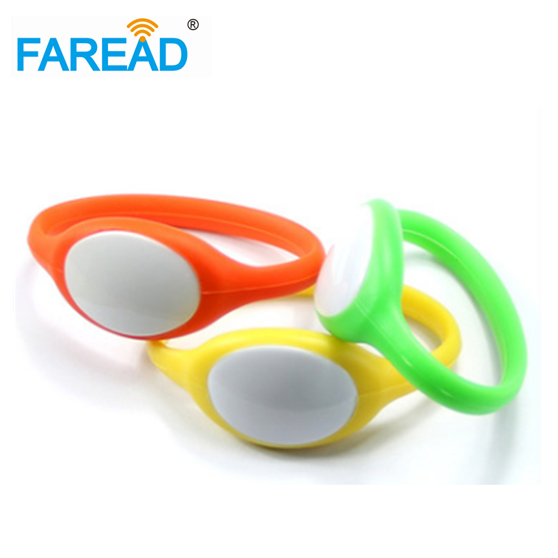 X100pcs Free Shipping 125khz EM4100  RFID Wristband  For Wimming Pool, Cooling Store