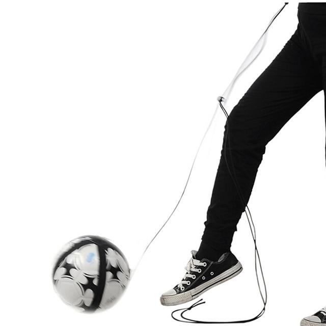 Us 4 5 38 Off Fussball Ball Kick Trainer Fahigkeiten Solo Fussball Training Aid Ausrustung Gurtel Verstellbaren Gurtel Praxis Unterstutzung Sport