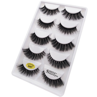 20/30/50 Packs Make your own logo custom 3D mink lashes G807 lashes with private logo for bulk wholesale mix style G807