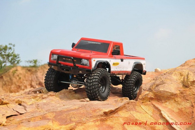 Marvelous Cross Rock Crawler 4x4 PG4RS KIT Truck Compatible Axial Tamiya 1/10 Pickup  Truck Toyota