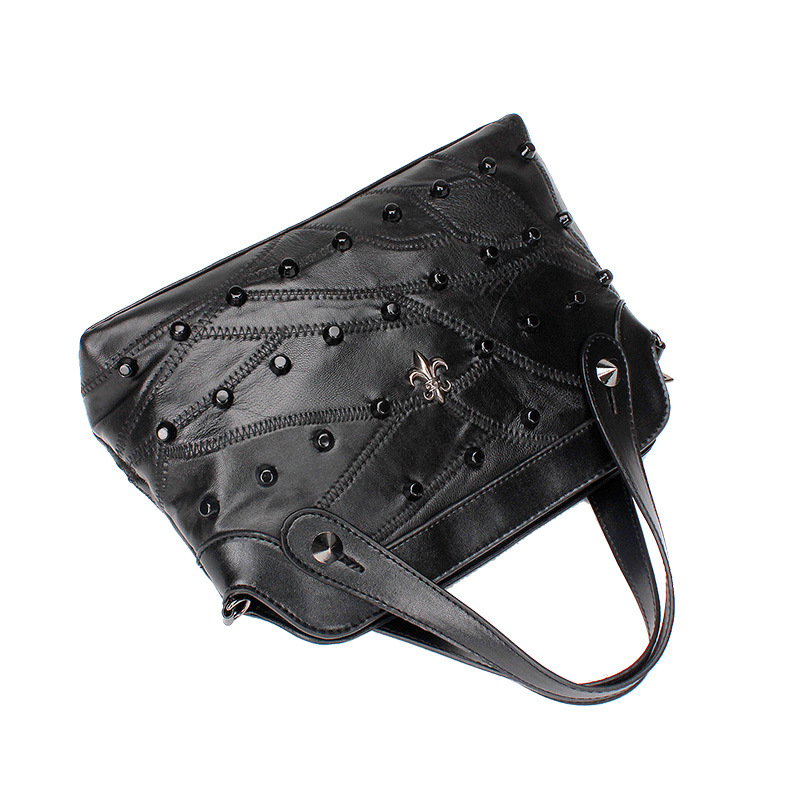 MAILAER new women bag true sheepskin shell package fashion handbag shoulder diagonal package large capacity bag