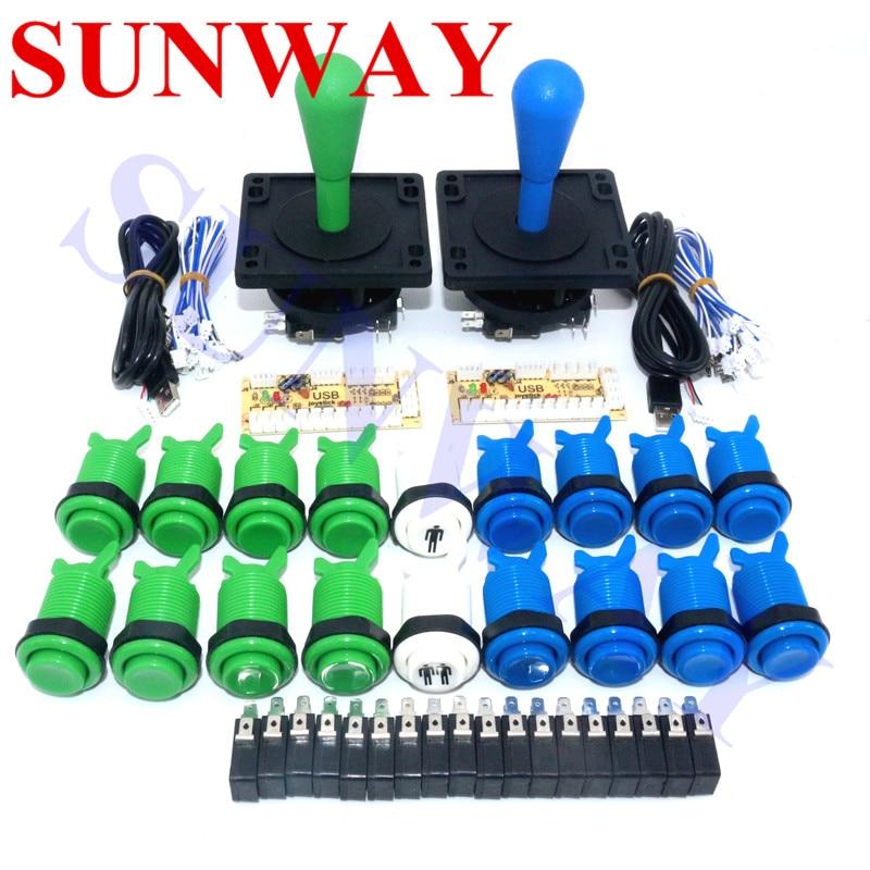 Jamma Arcade Cabinet DIY Kit Zero Delay USB Arcade ...