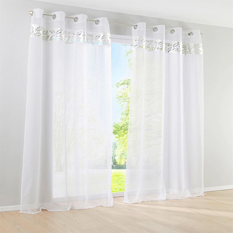 Popular voile curtains white buy cheap voile curtains white lots from china voile curtains white - White bedroom with flowing curtains ...