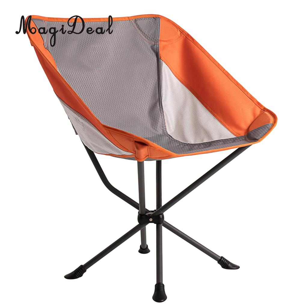 Foldable Compact Camping Chair Outdoor BBQ Beach Fishing Seat Lounger for Picnic Travell Hiking Boating Director Chair Tools kingcamp compact chair l