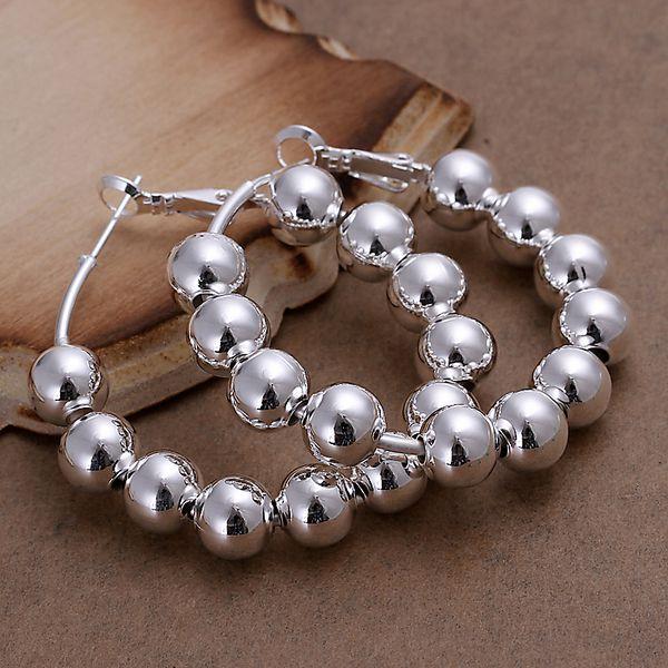 silver plated earrings fashion jewelry earrings beautiful earrings high quality 8M Bean Earrings fy yu