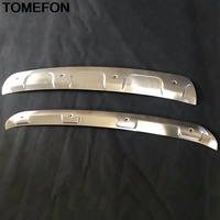 TOMEFON For Mazda CX 8 CX8 2017 2018 Front Rear Bumper Protector Guard Skid Plate Sill Cover Trim Exterior Accessories Stainless