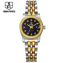 SEKARO female Brand Watch Fashion Luxury Wristwatch Waterproof automatic Mechanical Watch  Sport Casual Watches Reloj femenino