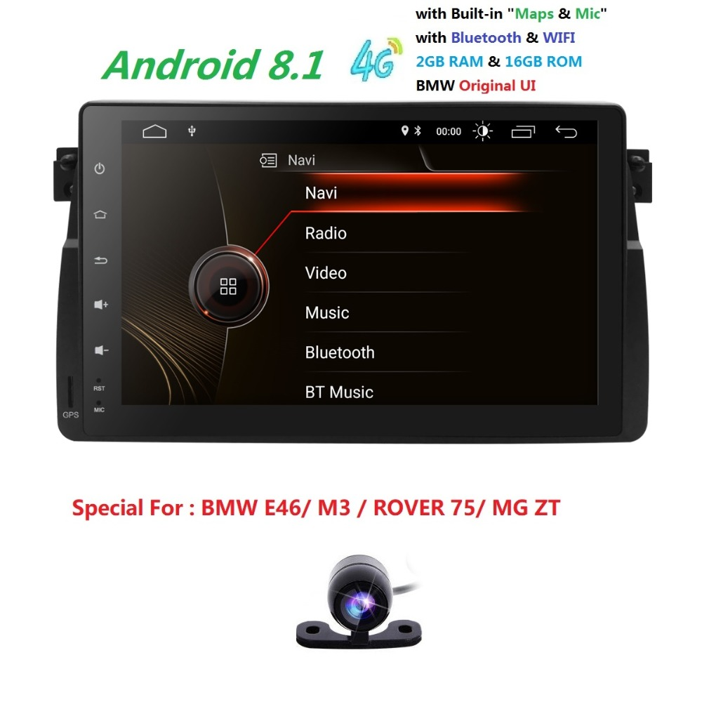 9 Screen Android8 1 font b Car b font font b Radio b font for BMW