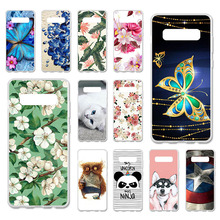 TAOYUNXI Cases For Samsung Galaxy S10 Plus S10+ Case 6.4 inch Soft TPU Back Covers G9750 G975F Painted Bags Housings Shell