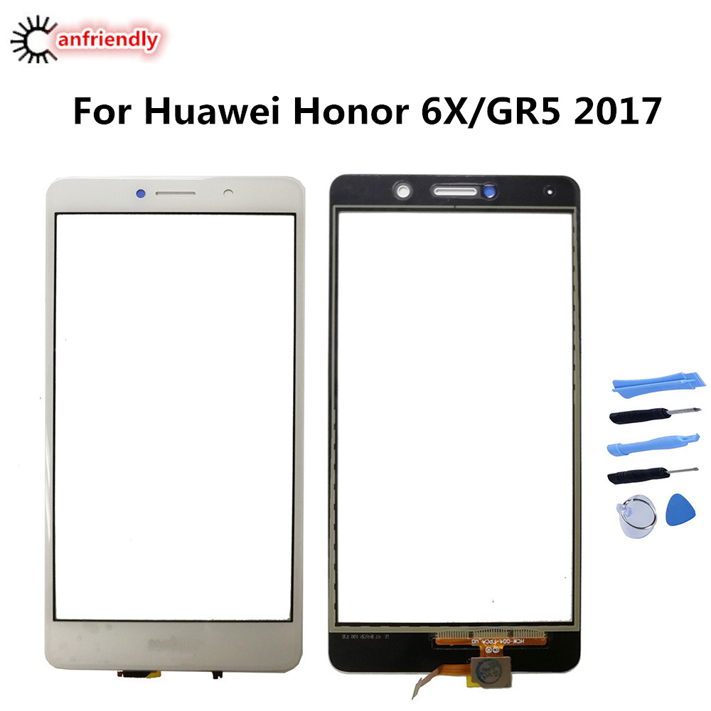 For Huawei Honor 6X 6 X BLN AL10 L21 L22 L24 Touch Screen Replacement Phone  Accessories Panel For Huawei GR5 2017 BLL L21 L22