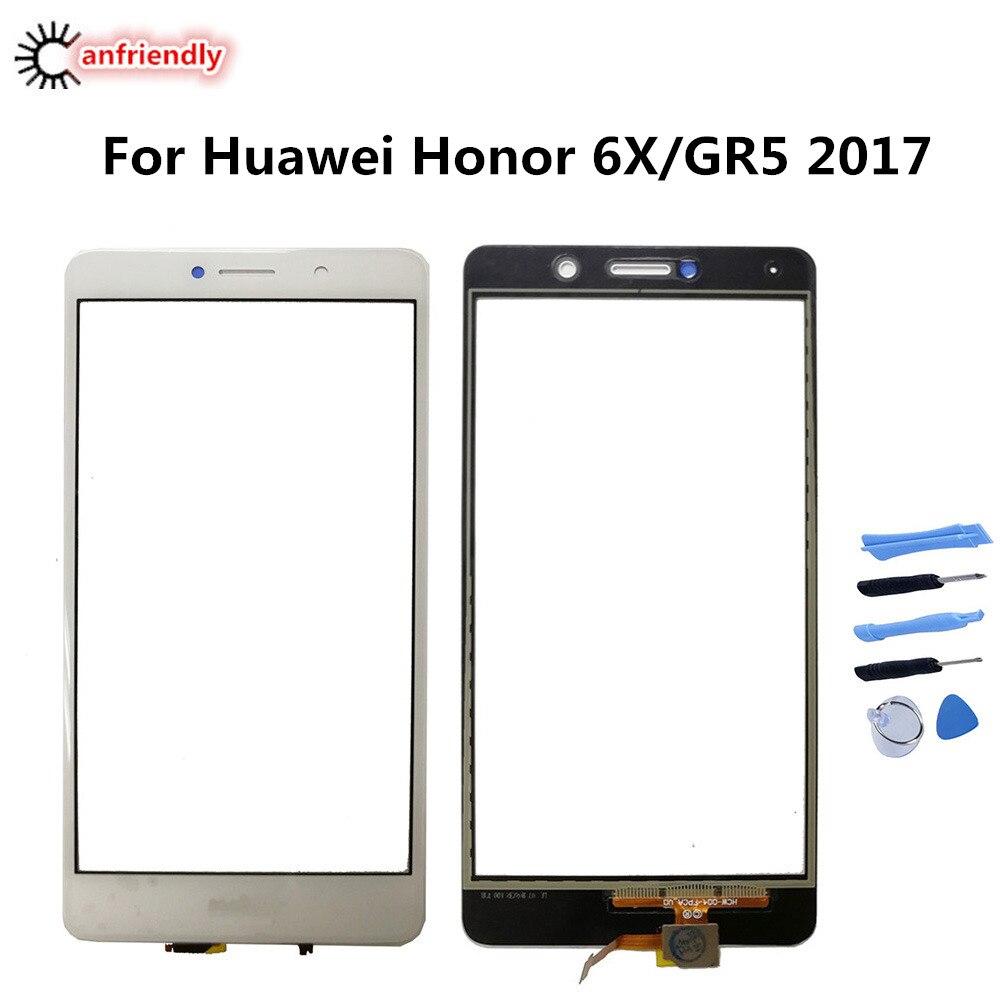 Para Huawei Honor 6X6 X BLN AL10 L21 L22 L24 pantalla táctil accesorios del teléfono del reemplazo del Panel para Huawei GR5 2017 BLL L21 L22
