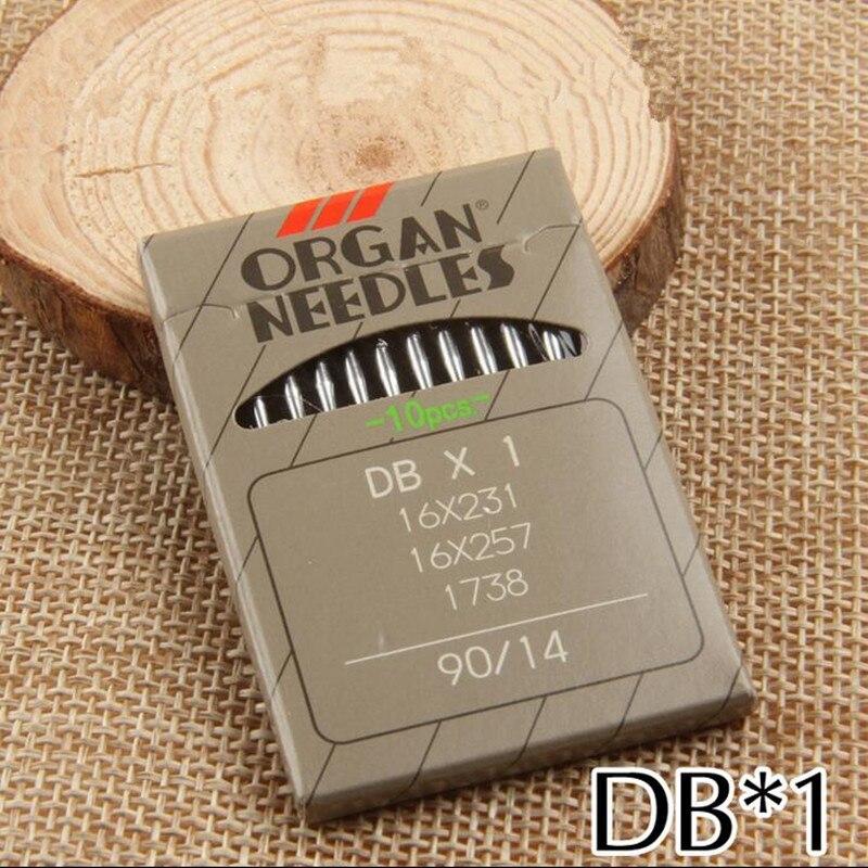 ORGAN NEEDLE DBX1 16//100 DDL-5550 JUKI DDL-8700 DDL-8700-7 100 Japan Organ Sewing Machine Needles fit for JUKI DDL-555,DDL-5530