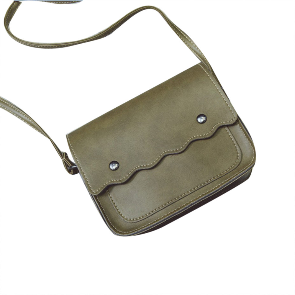 Womens PU Leather Handbag Shoulder Bag Clutch Tote