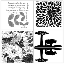 цена на AZSG The beauty of nature Clear Stamps For DIY Scrapbooking Rubber Stamp/ Seal Paper Craft Clear Stamp Card Making