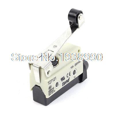 все цены на  TZ7121 Roller Lever SPDT Momentary Mini Micro Limit Switch AC 250V 10A  онлайн