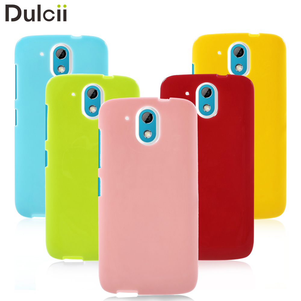 Phone Cases For HTC Desire 526 Solid Color Jelly Soft TPU Mobile Phone Bag Case For HTC Desire 526 / 526G+ Dual SIM Coque Fundas
