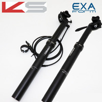 Kindshock dropper seatpost adjustable height bicycle MTB VAREO 30.9 31.6mm 385mm remote manual control Hydraulic seat post