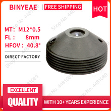 BINYEAE M12 объектива FL 8 мм ультракороткие объектив для 1/2. 5 CCD с F1.6 Мини CCTV HD 2,0 мегапиксельный объектив для камеры видеонаблюдения объектив