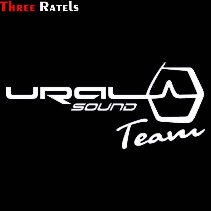 Three Ratels TZ-518 10.9*25cm 1-5 Pieces  URAL SOUND TEAM Car Sticker And Decals Funny Stickers