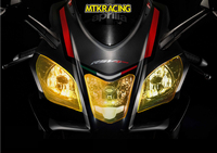 MTKRACING FOR APRILIA Tuono V4 1100 RR / RR MY16/ Factory MY16 2017 2018 motorcycle Headlight Protector Cover Shield Screen Lens