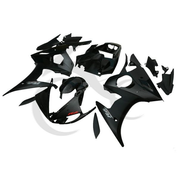 Black ABS Plastic Fairing Body Work For Yamaha YZF R6 2003-04 YZF R6S 2006-2010