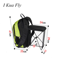 Bicycle Backpack Sitting Chair Outdoor Bags Folding Seat Mountaineering Fishing Movement Trend Shooting Sports Cycling 4