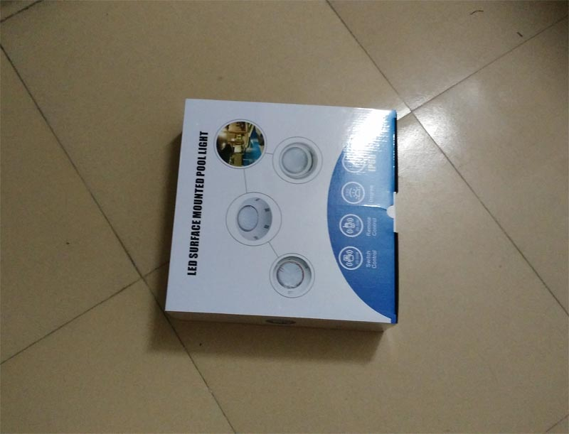18 Вт RGB контроллер светодиодное освещение плавательного бассейна с DMX512