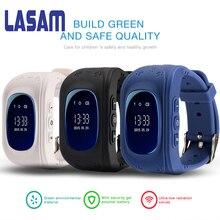 LASAM Q50 GPS Kid Safe Smart Watch SOS Call Location Finder Locator Tracker Children Watch For Child Anti Lost Baby Wristwatch