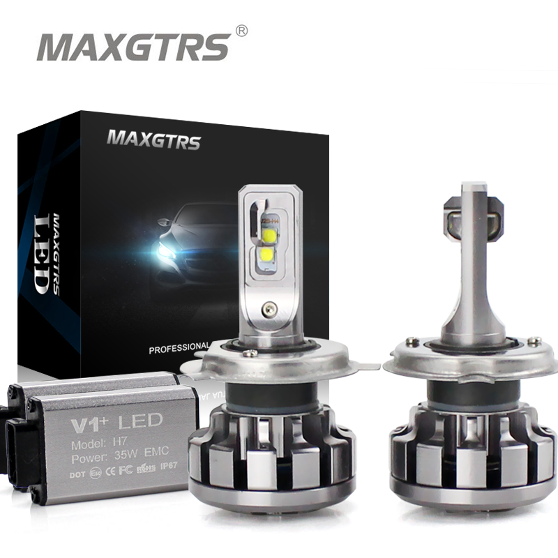 MAXGTRS Car LED Headlight Canbus H1 H3 H7 H4 LED H8/H11 HB3/9005 HB4/9006 9012 880 881 CSP Chip 60W Auto Bulb Headlamp Fog Light maxgtrs car led headlight h7 h4 led h8 h11 hb3 9005 hb4 9006 9012 csp chip 60w 6000lm auto bulb headlamp 6000k fog light