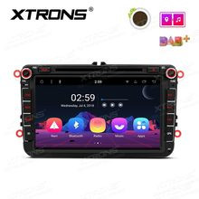 "8"" Android 8.1 Oreo OS Car DVD Multimedia GPS Radio for Volkswagen Caddy 2003-2015 & Sharan 2010-2014 & T5 Transporter 2010-2014(China)"