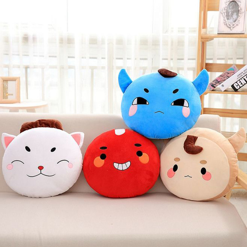 1pcs Korea God Alone And Brilliant Goblin Stuffed Plush Pillow Toy Dolls Lover Kids Cute Ghosts Back Cushion Toy Gifts 36*42cm 55cm cute cartoon lilo and stitch warm hand pillow plush toy doll stuffed pillow cushion toys dolls warm hands stitch kids toy