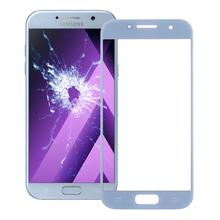 Сенсорный экран для Samsung Galaxy A7()/A720 сенсорный экран дигитайзер панель сенсорная Передняя стеклянная внешняя линза