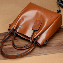 Luxury Real Cow Leather Women Handbag Fashion Lady Genuine Leather Bags Casual Tote Brand Women's Messenger Crossbody bag 2018