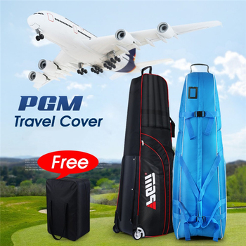 PGM Golf Aviation Bag Portable Golf Bag Cover With Wheels Waterproof Nylon Large Capacity Travel Storage Bags Air Bags D0073