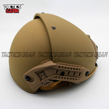 TACTICSGEAR 2018 Tactical Skirmish Airsoft CP Helmet MOLLE Gear Modern Design