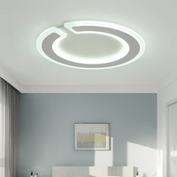 LED Потолочные светильники минималистский потолочный плафон персонализированные творчества Гостиная Исследование Освещения модные спальн