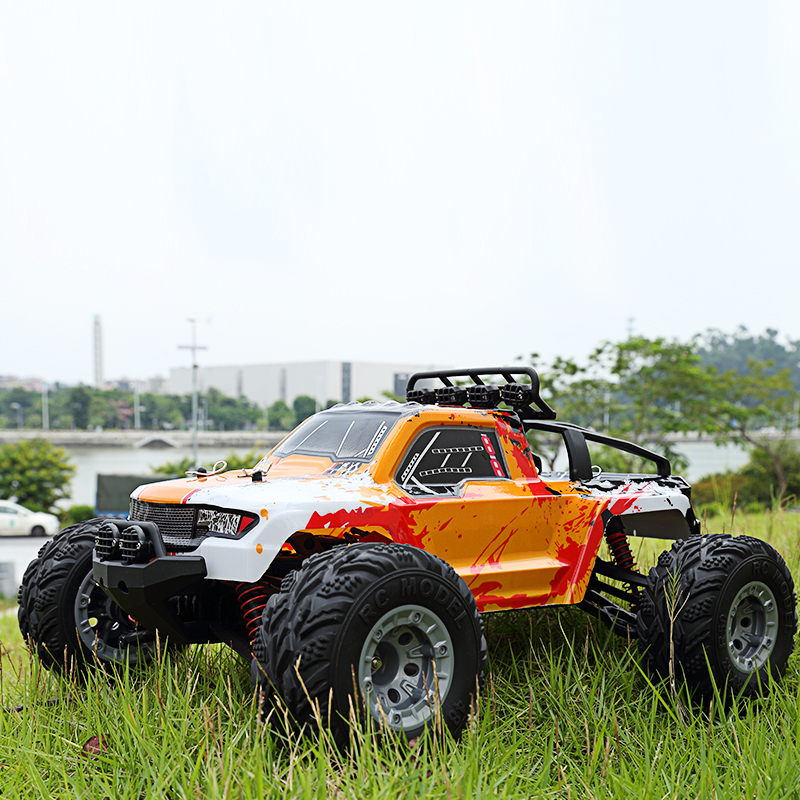 M1211 1/12 Scale Off-Road Vehicle RC Racing Car 2.4G Electric 4WD Remote Control Car 45km/h High speed Drift RC Truck with LED